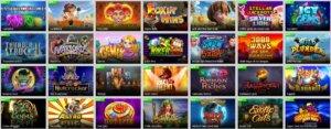 Der er rigtige mange spilleautomater hos Casinosjov.dk