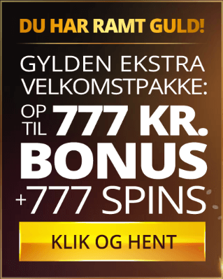 Få kæmpe casino bonus til at spille for hos Dansk777