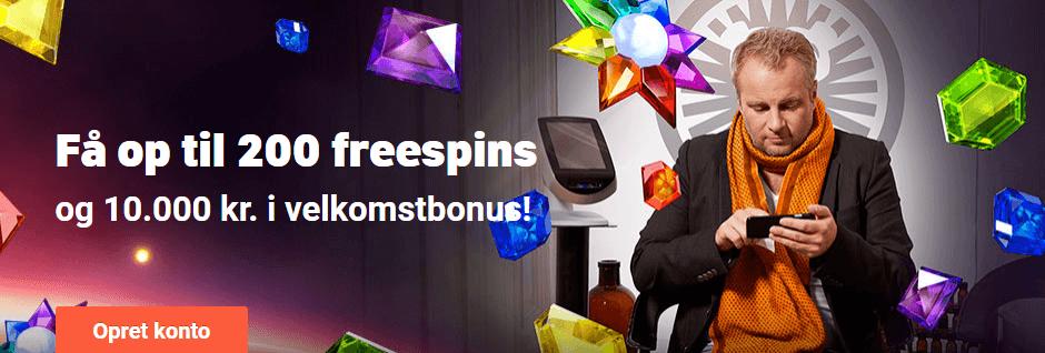 Læs vores anmeldelse af LeoVegas og få en bonuskode hvis du opretter en spilkonto