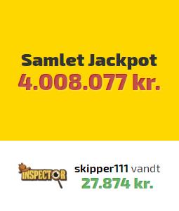 Vind millioner kroner hos Spilnu.dk i deres store jackpot