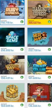 Mange sjove danske spillemaskiner