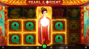 Prøv spilleautomaten Pearl Rient hos det online casinoet dansk777