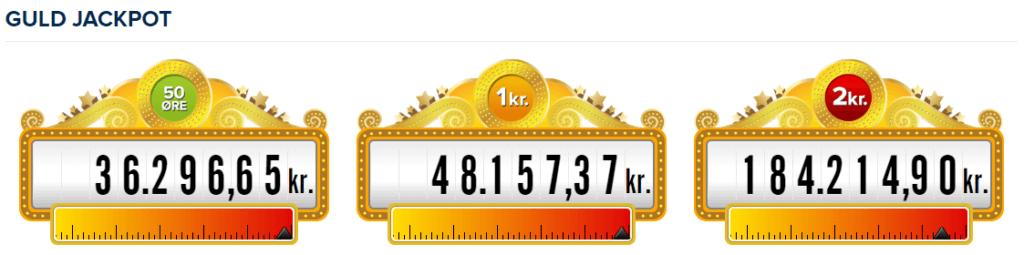 Vind den helt store guld jackpot på casino!