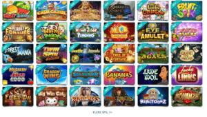 Stort udvalg af spilleautomater hos det danske casino Karamba