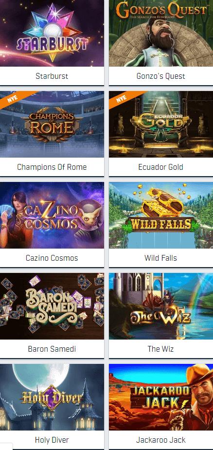 Free spins på spillemaskiner